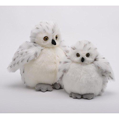 White Snow Owl Baby Plumpee Plush Toy 7 H by Unipak