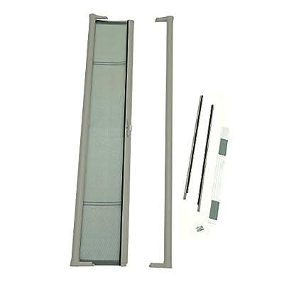 ODL Brisa Premium Retractable Screen for 80 in. Inswing Hinged Doors - Sandstone