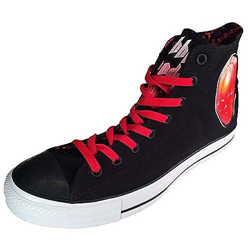 chic Converse Chuck Taylor Black Sabbath Sneakers Bloody