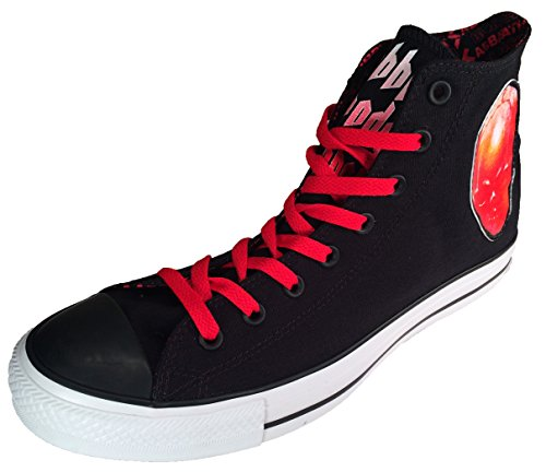 Converse Chuck Taylor Black Sabbath Sneakers Bloody Sabbath Men's 7.5