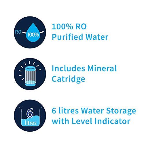 HUL Pureit Classic G2 Mineral RO+MF 6L Water Purifier