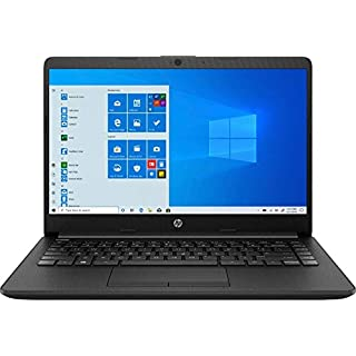 "HP 14 14.0"" Laptop Computer, AMD Athlon Silver 3050U Up to 3.2GHz (Beats i3-7130u), 4GB DDR4 RAM, 128GB SSD, 802.11AC WiFi, Microphones, Webcam, Windows 10 S, BROAGE Accessories, Online Class Ready"
