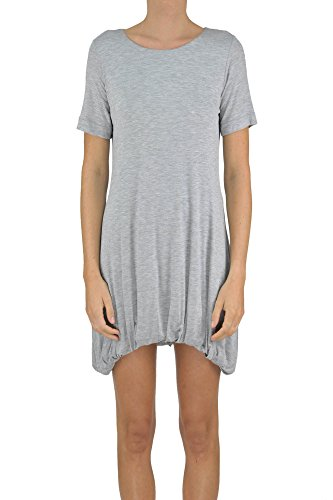 Dondup Women's Mcglvs003186e Grey Viscose Dress by Dondup