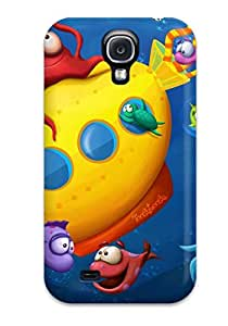New Style Galaxy Case - Tpu Case Protective For Galaxy S4- Sea Life 8234012K82175060