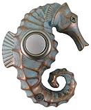 Waterwood Handpainted Seahorse Doorbell