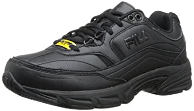 Fila Women's Memory Workshift Training Shoe,Black/Black/Black,6 W US