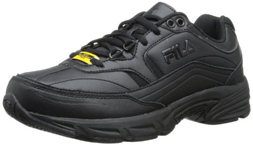 Fila Women's Memory Workshift Training Shoe,Black/Black/Black,11 W -