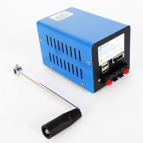 Portable High Power Dynamo Charger Emergency Hand Crank USB Generator - Dynamo Crank Hand