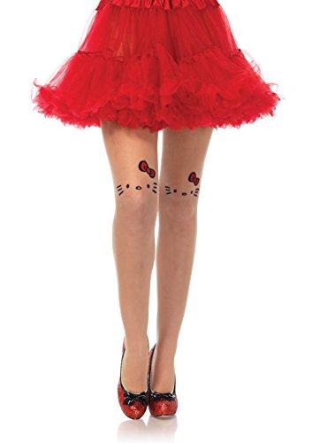 Leg Avenue Women's Costume, Nude/Black, One -