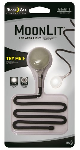 Nite Ize MTL02-07-01 MoonLit LED Area Light (Overhead Coin Set)