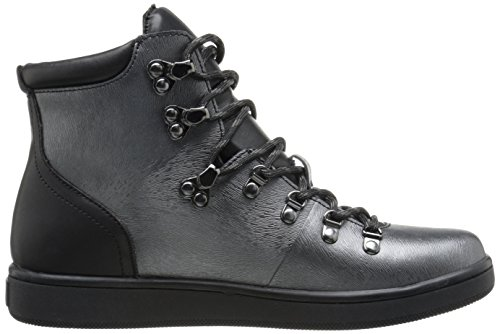 Calvin Klein Womens Dita Fashion Sneaker In Peltro / Nero