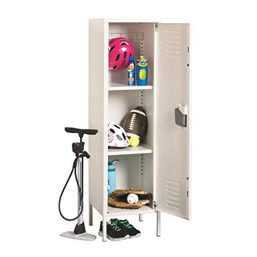 Office Dimensions Personal Locker Storage Cabinet, White (21899)