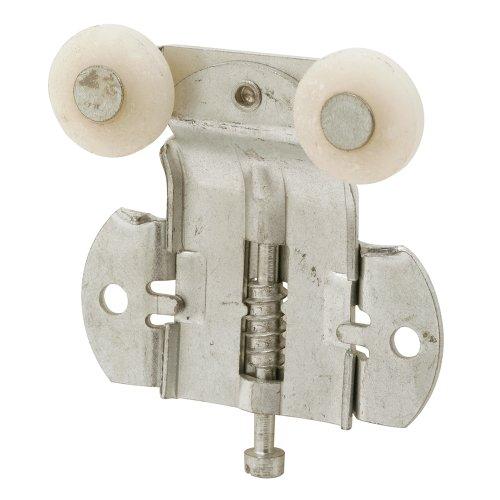 Slide-Co 16317-F Closet Door Tandem Roller, Front, 3/8 Offset, 3/4 Plastic Convex Wheels,(Pack of 2) ()