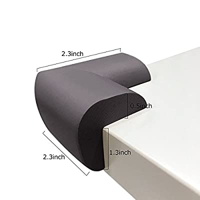 Edge Corner Cushion Premium Childproofing BESTTY Baby Safe Corner Guard Child Safety Home Furniture Safety Bumper Roving Cove 12 Pack
