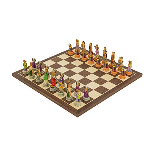 (Regencychess The Zodiac Hand Painted Italian Themed Chess Set by Italfama)
