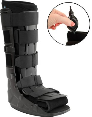 (Premium Full Shell Tall Air Cam Walker Fracture Boot - Large/XLarge)
