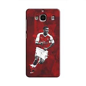 Cover It Up - Alex Iwobi Red Redmi 2 Prime Hard Case