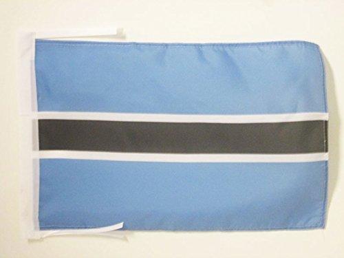 - AZ FLAG Botswana Flag 18'' x 12'' Cords - Botswanan Small Flags 30 x 45cm - Banner 18x12 in