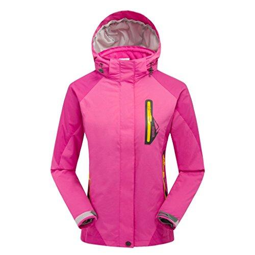 Esterna Cappotto Con Pinkcolor Bavero Del S Lunghe Cerniera Maniche Uomini Giacche Fym Impermeabile Giacca Dyf w8qW7Z