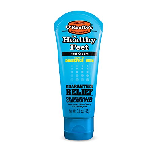 Foot Care Cream (O'Keeffe's K0280004 for Healthy Feet Foot Cream, 3 oz, Tube)