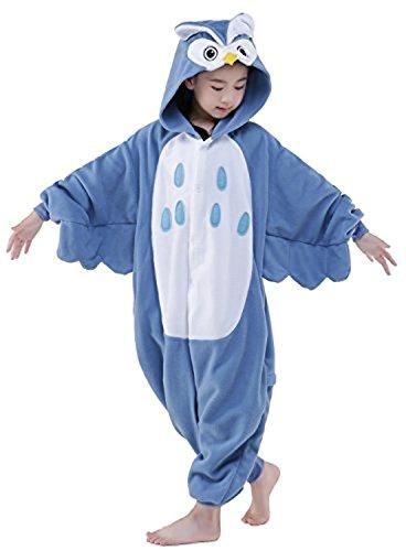 Carnevale Natale Kenmont Cosplay Halloween Unicorno Tuta Animale Pigiama pigiamas Bambini Notte Camicie Owls Costumi da Xnvx8X