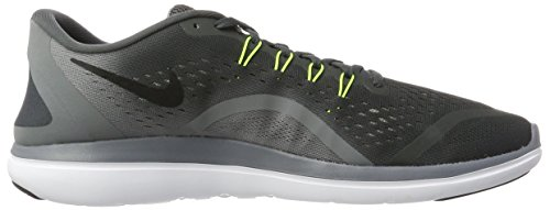Nike Men's Free RN Sense Running Shoe, Scarpe Sportive Indoor Uomo Multicolore (Anthracite/Volt-cool Grey-black)