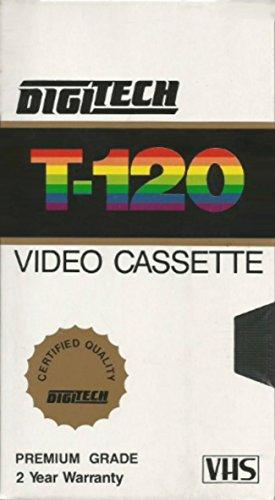 DigiTech T-120 Premium Grade VHS Blank