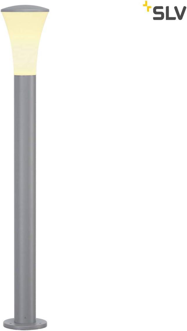 SLV Luminaire dExt/érieur LED  ALPA CONE Eclairage Ext/érieur Raffin/é Lampe de Eclairage d/'all/ée Borne LED d/'Ext/érieur Potelet Borne Lumineuse Ext/érieur Lampadaire d/'Ext/érieur Design
