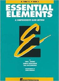 ESSENTIAL ELEMENTS BOOK 2 -ORIGINAL SERIES (AQUA)B-FLAT TUBA TREBLE CLEF T.C.