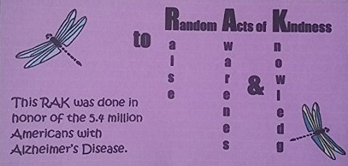 RAK Cards Random Acts of Kindness (RAK) to Raise Awareness and Knowledge (RAK) Cards