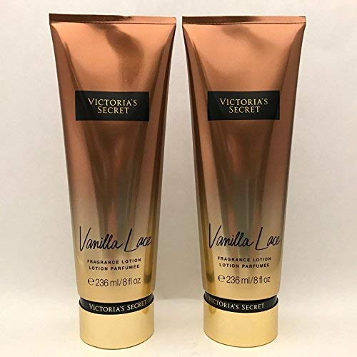 Victoria's Secret [2 pack] Lotion Vanilla Lace, Full size 8 oz. each