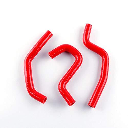 FidgetGear FOR HONDA CR85 CR 85 1996-2007 Red Silicone Radiator Coolant Hose Heater Pipe: