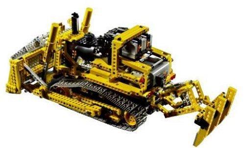 Lego Technic Motorized Bulldozer | RC Excavators and Toys