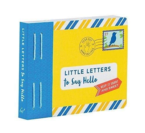 (Little Letters to Say Hello)