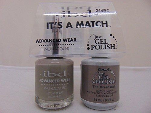 大使館貫入周辺ibd - It's A Match -Duo Pack- The Great Wall - 14 mL / 0.5 oz Each