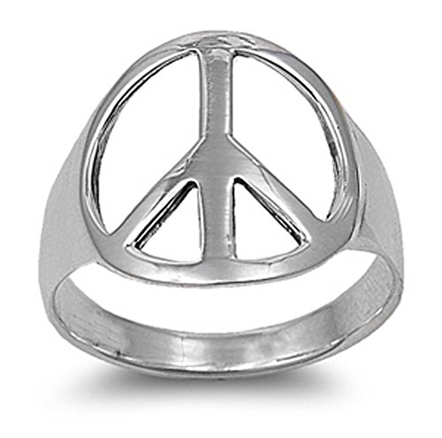 sterling-silver-womens-mens-world-peace-fashion-ring-classic-band-sizes-4-15