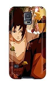 Galaxy S5 Hard Back With Bumper Silicone Gel Tpu Case Cover Naruto Shippuden