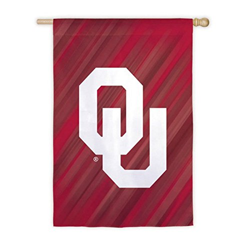 University of Oklahoma Sooners Doubled Sided House Flag