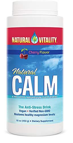 Natural Vitality Calm Cherry, 16 Ounce -
