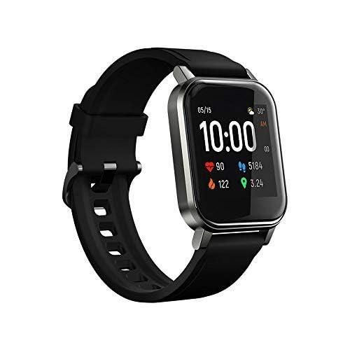 chollos oferta descuentos barato HAYLOU LS02 Global Version Smart Watch 2 Pantalla LCD de 1 4 Pulgadas BT5 0 12 Modos Deportivos IP68 Impermeable 20 días Reloj de Pulsera de Ritmo cardíaco Pulsera de Fitness