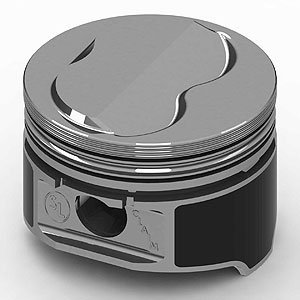 (KB Performance Pistons 9904HC.030 +4cc Domed Piston Set for Small Block Chevrolet )