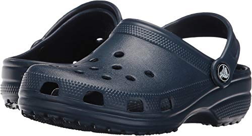 Price comparison product image Crocs Unisex Kid's Classic Clog / Water Shoe for Toddlers,  Boys,  Girls / Slip On Sandal,  Navy,  J4 M US Big