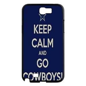 Dallas Cowboys Series, Samsung Galaxy Note 2 Cases, Mafalda Paz Cases for Samsung Galaxy Note 2 [Black]