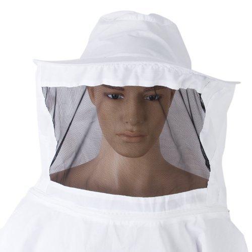 StarSide Professional Beekeeping Jacket Veil Bee Protecting Suit Smock Dress Equipment