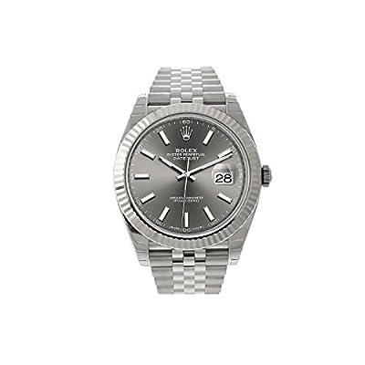 New 2017 Rolex Datejust II Steel Dark Rhodium Sticks Jubilee 41mm Watch 126334 from Rolex