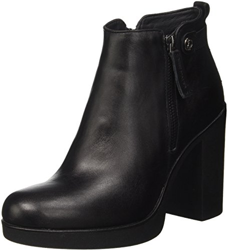para Polo ASSN Sissy Mujer U Nero Botines S Blk Negro A5wxpZX