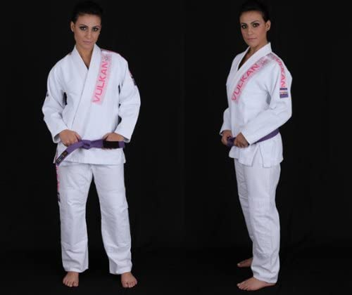 Vulkan Women 's Pro Light Gi – ホワイト – a2