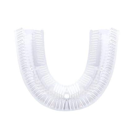 KILLYSUFUY - Cepillo de dientes de limpieza con forma de U para cepillos de dientes eléctricos