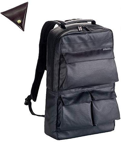 メンズ ビジネス リュック 軽量 撥水 A4 ファイル PC 収納 11L ビジネスバッグ と [BLANZAY 本革高級コインケース]のセット BH42548
