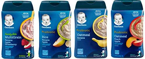 Baby Food: Gerber Hearty Bits